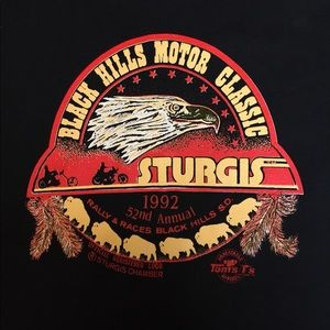 👀 VTG 1992 Sturgis Black Hills Rally Sz 3XL